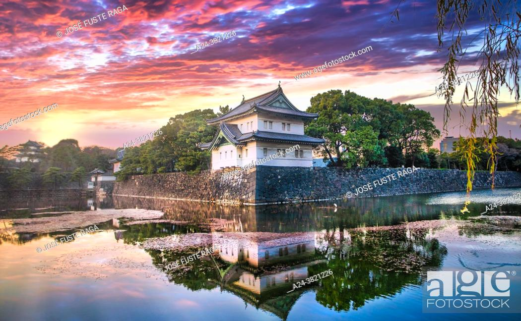 Imagen: Tokyo, The Imperial Palace Walls.
