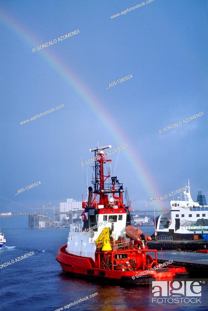 Stock Photo: Stavanger, NORWAY.