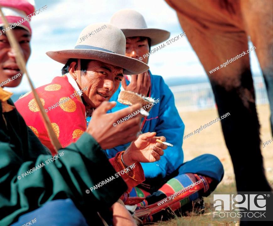 Stock Photo: Tibetan.