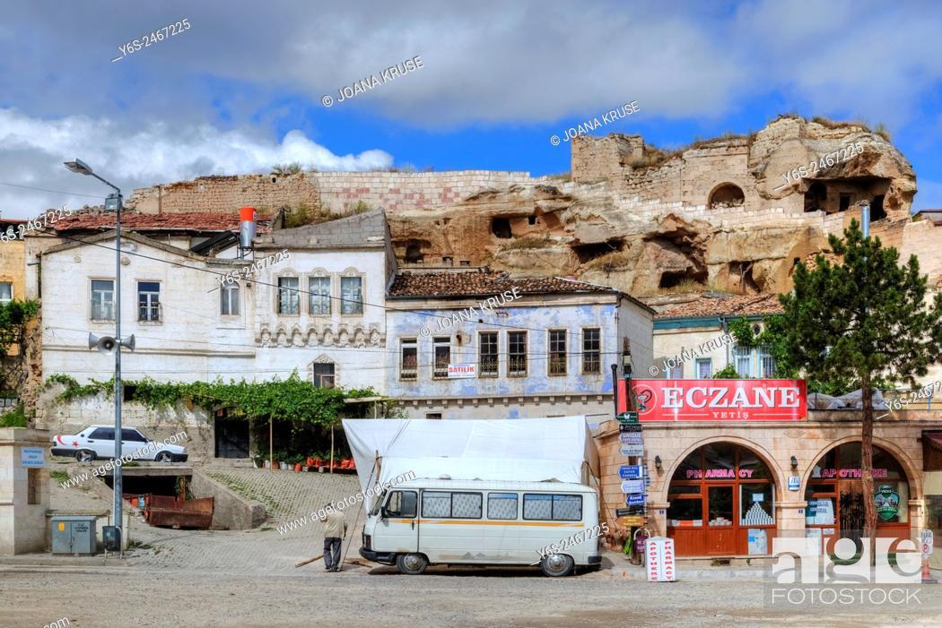 Stock Photo: Mustafapasa, Urgup, Cappadocia, Anatolia, Turkey.