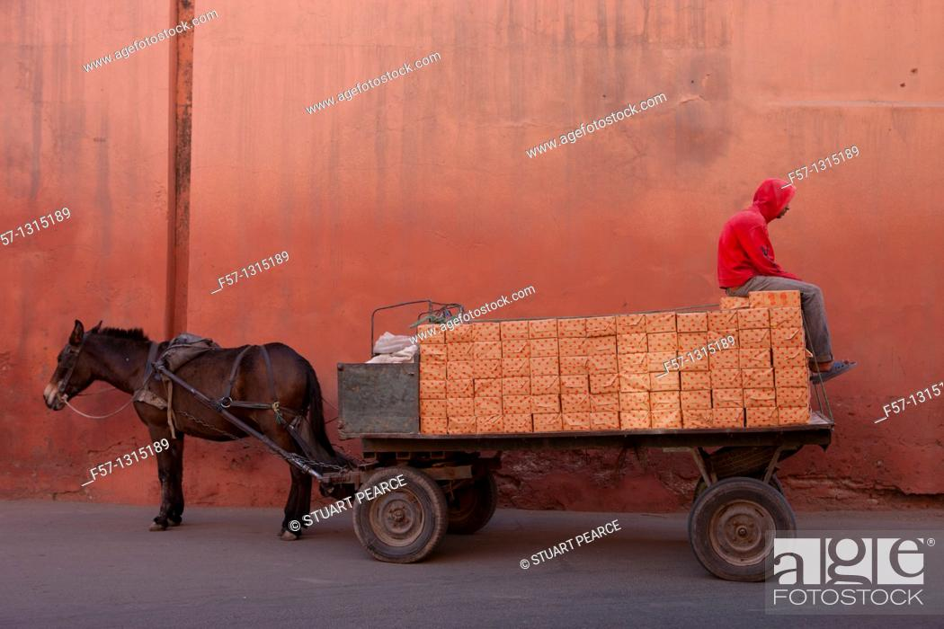 Stock Photo: Marrakech, Morocco.