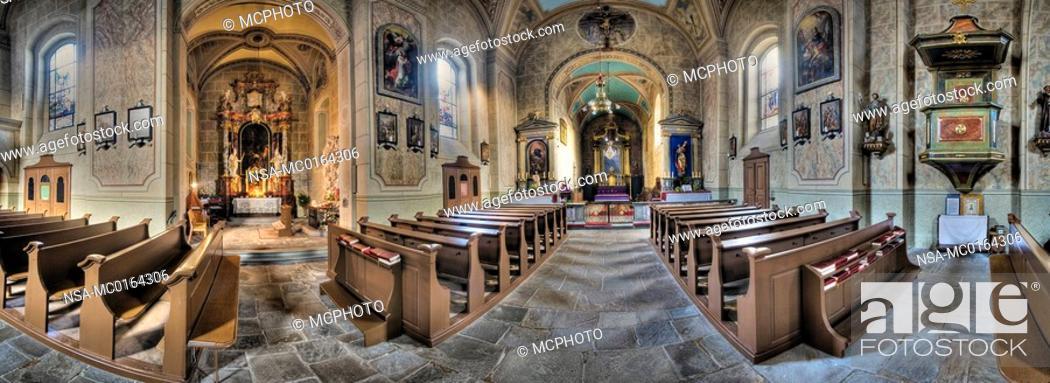 Stock Photo: minster church, Waidhofen an der Ybbs, Mostviertelregion, Lower Austria, Austria.