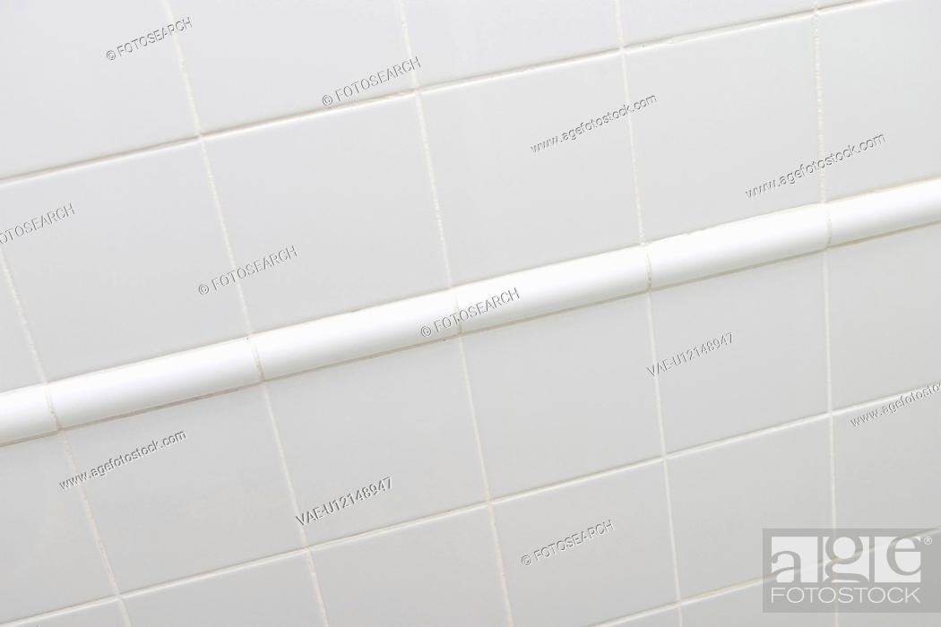 Stock Photo: flat, slab, wall, clean, indoor, inside.