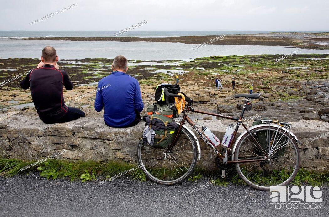 Stock Photo: Inishmore island, Aran island  County Galway, Ireland.