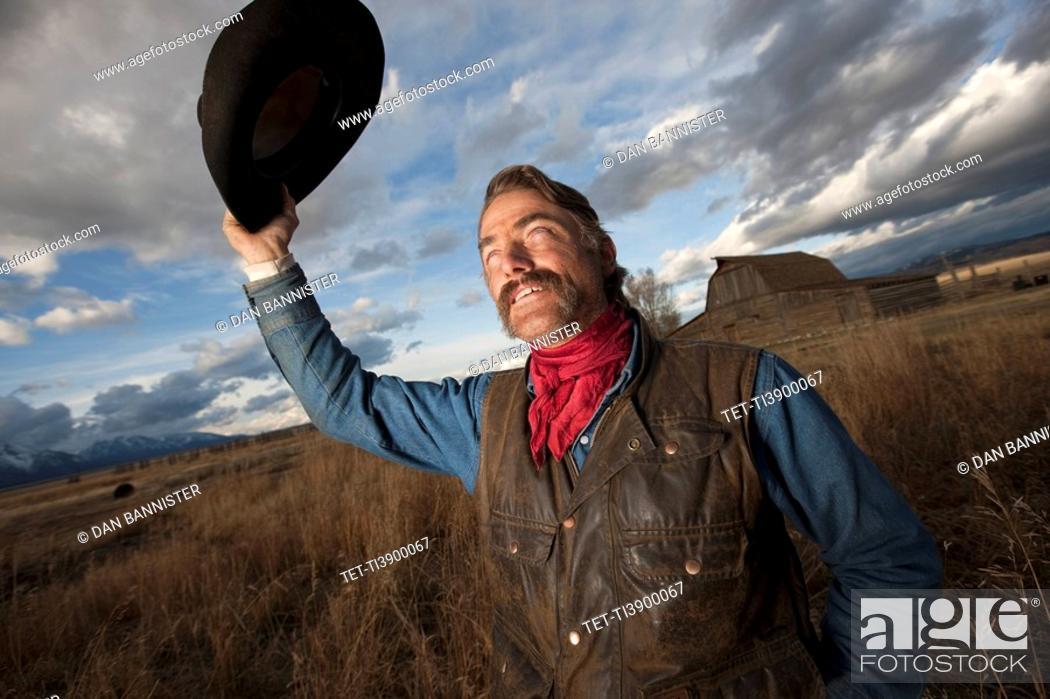 Stock Photo: Cowboy.