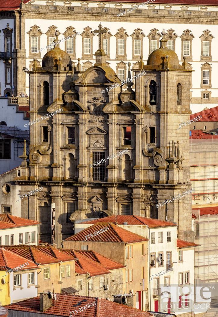 Stock Photo: Saint Lawrence Church, Porto, Portugal.
