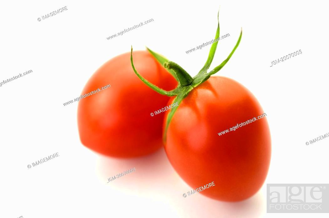 Stock Photo: Cherry Tomato, Tomato.
