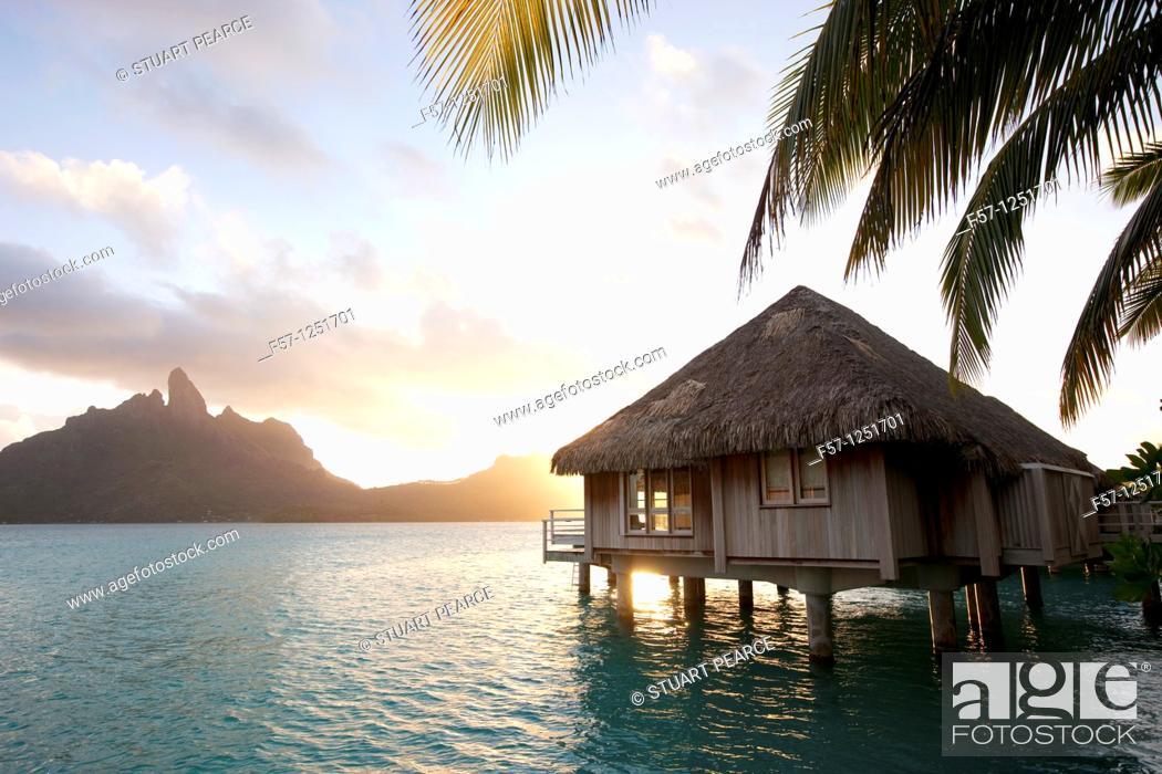 Stock Photo: Bora Bora, French Polynesia.