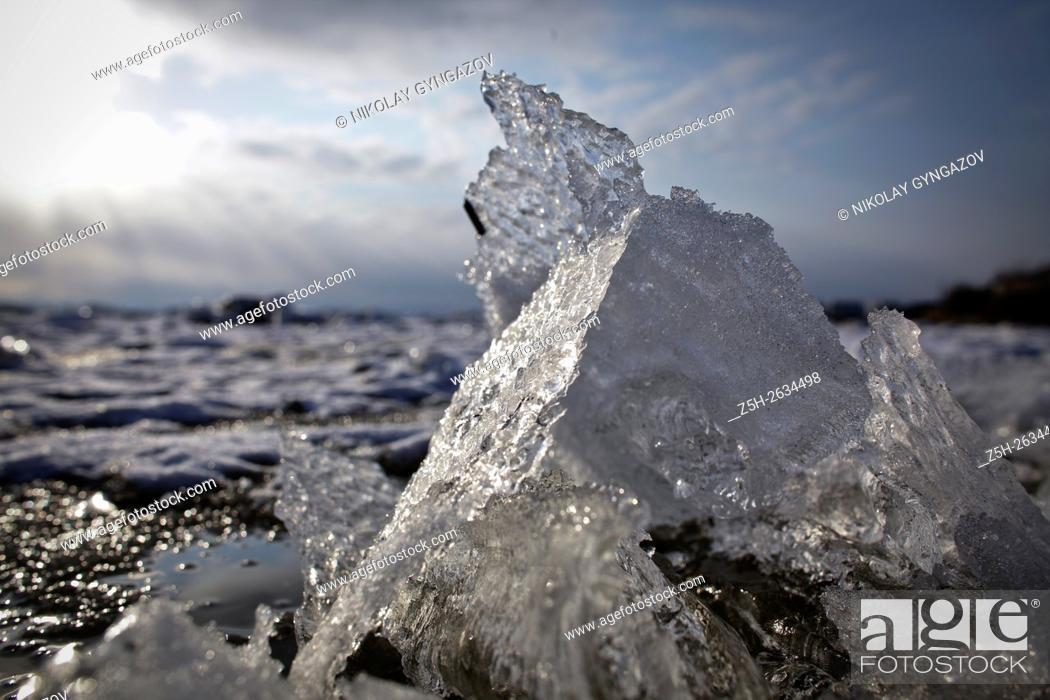 Imagen: Winter in Siberia.
