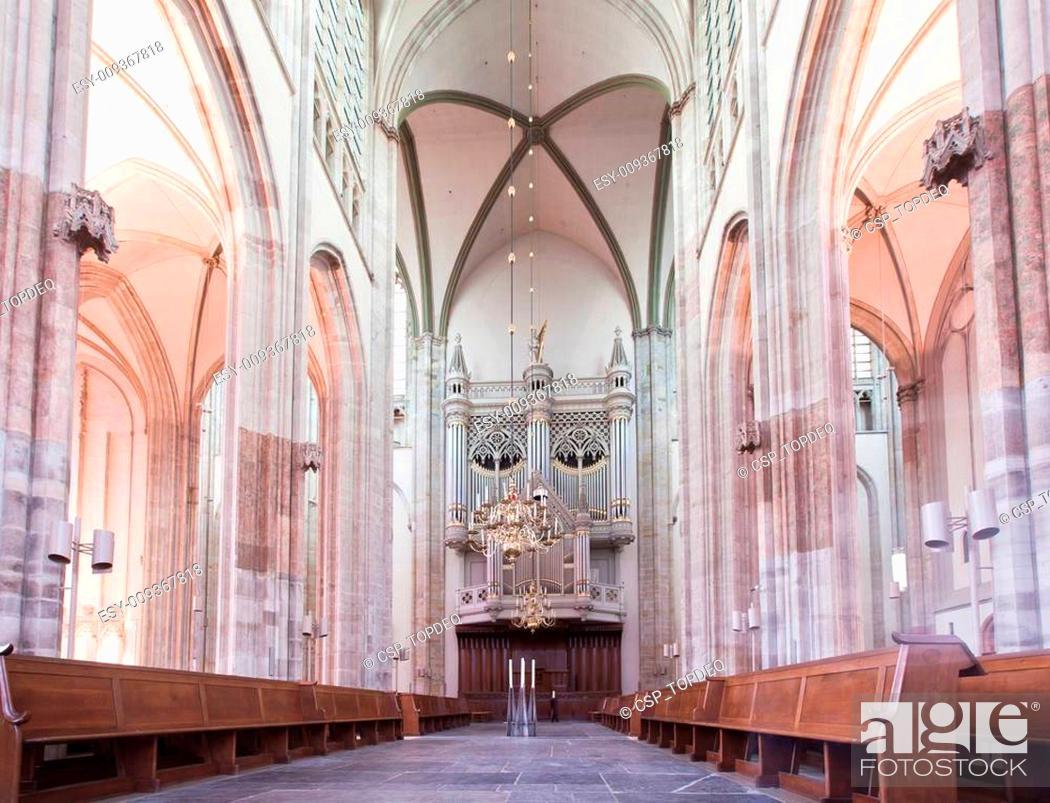 Photo de stock: Dom church in Utrecht.