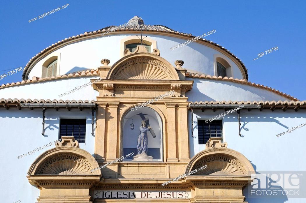 Stock Photo: Jesus Church, Murcia, Spain, Europe.