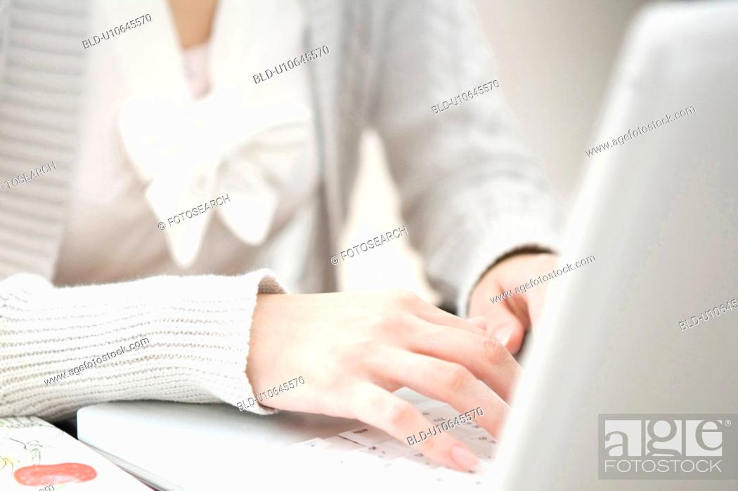 Stock Photo: Image of business with woman.