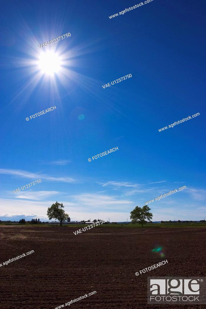 Stock Photo: Blue Sky, Clouds, Darkness, Day, Environment.