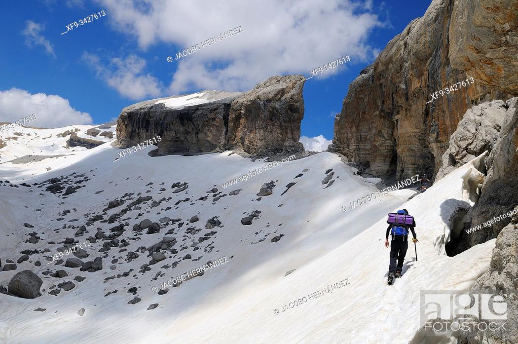 Stock Photo: Brecha de Roldán. Ordesa y Monte Perdido National Park. Huesca province. Aragón. Spain.