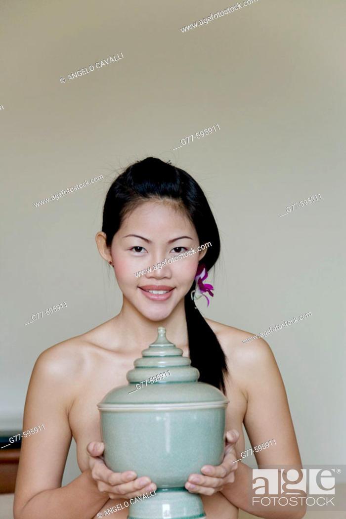 Stock Photo: Thailand. Bangkok. Thai woman.