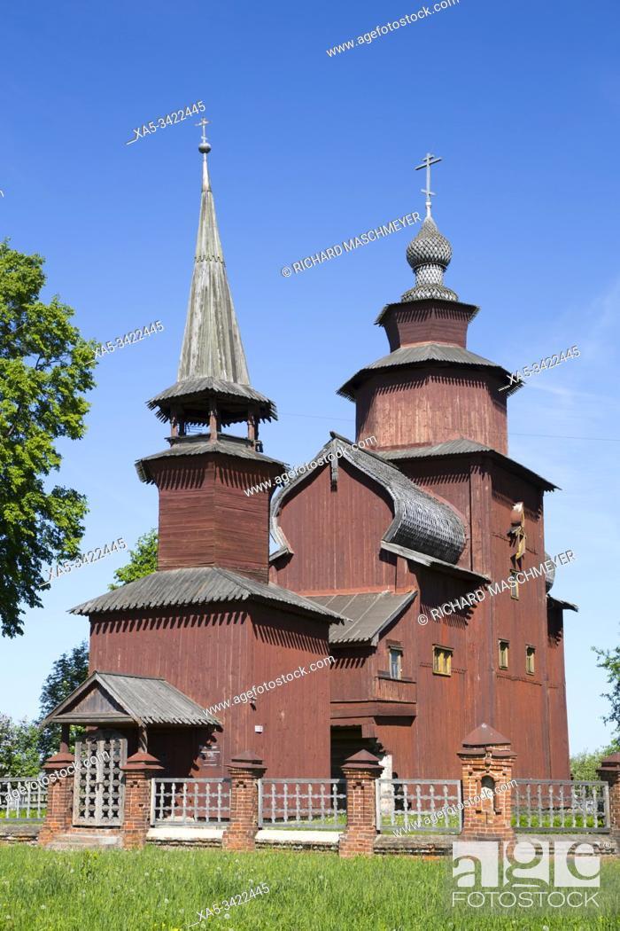 Imagen: Church of St John the Theologian (1687-89), Near Rostov Veliky, Golden Ring, Yaroslavl Oblast, Russia.