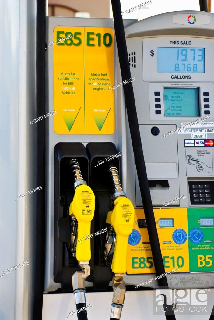 E85 Gas Stations >> Ethanol Fuel Pumps E85 E10 At Retail Fuel Station Minden