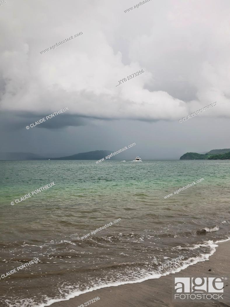 Photo de stock: Sea and clouds, Guanacaste, Costa-Rica.