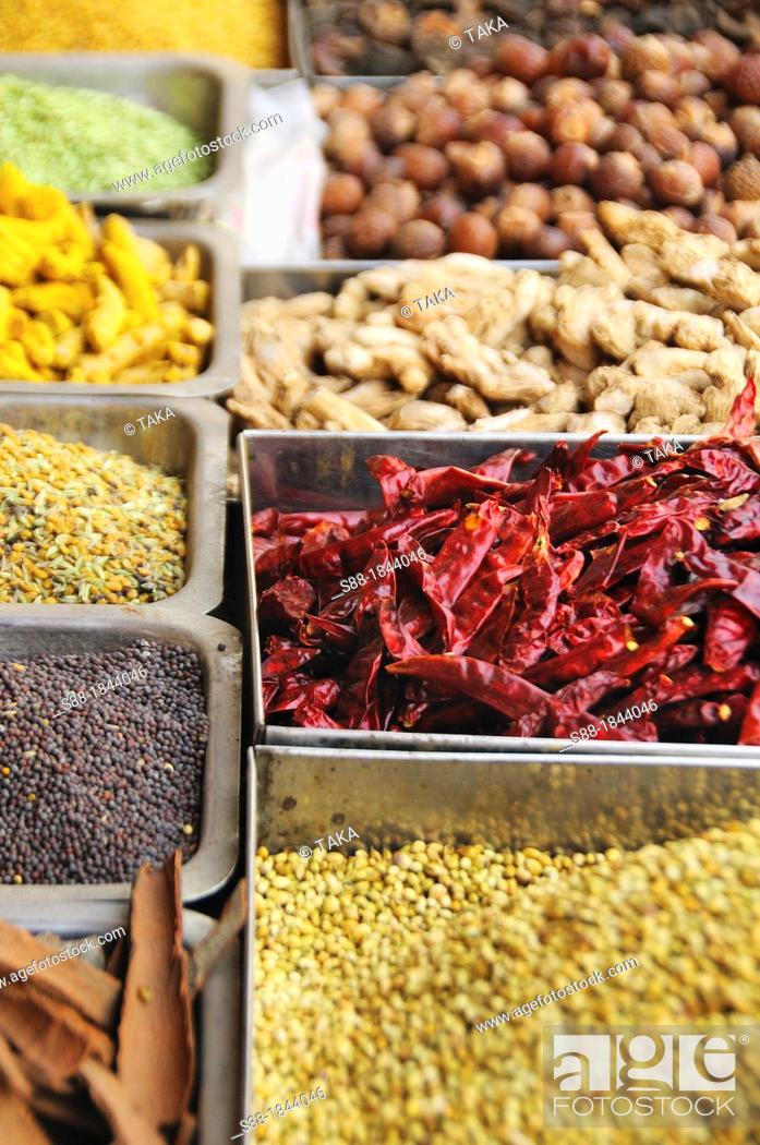 Stock Photo: Indian spice.