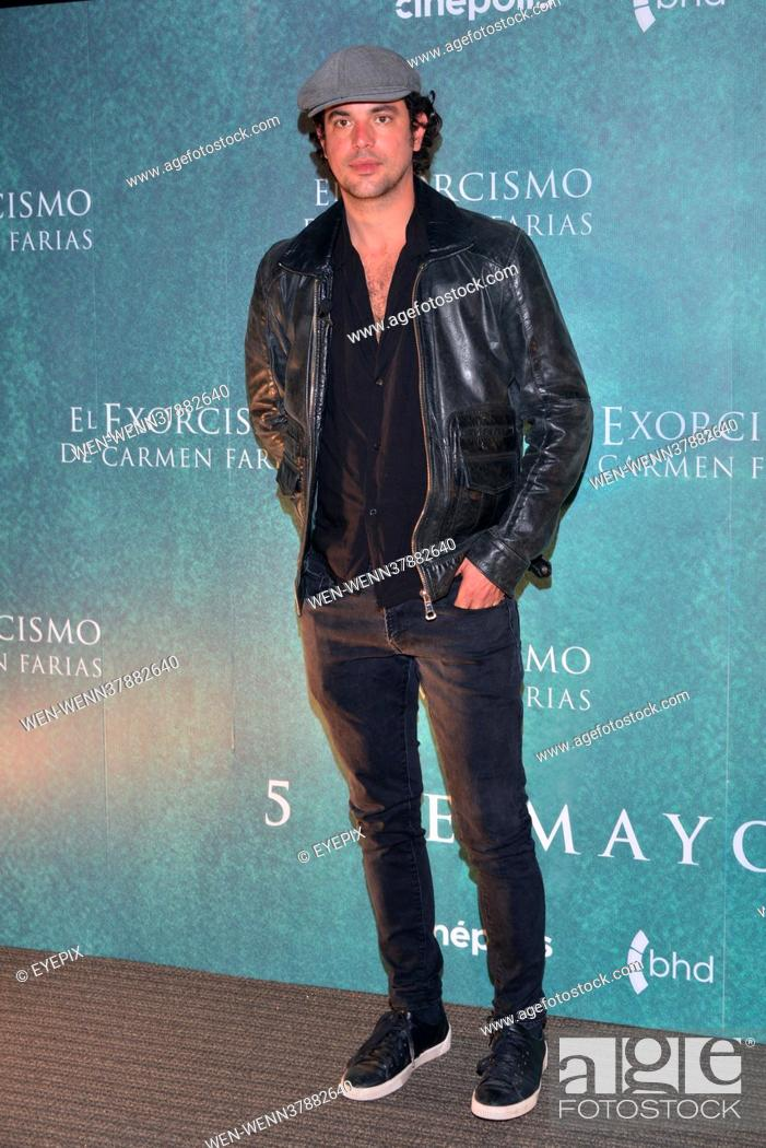Stock Photo: 'Exorcism of Carmen Farias ' Film Press Conference at Cinipolis Plaza Carso in Mexico City, Mexico Where: Mexico City, Mexico When: 03 May 2021 Credit:.