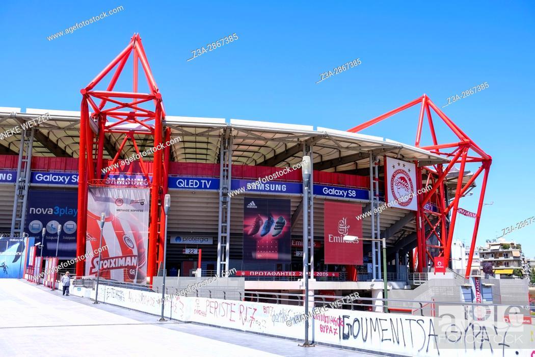 Imagen: The Karaiskakis Stadium in Athens, Greece.