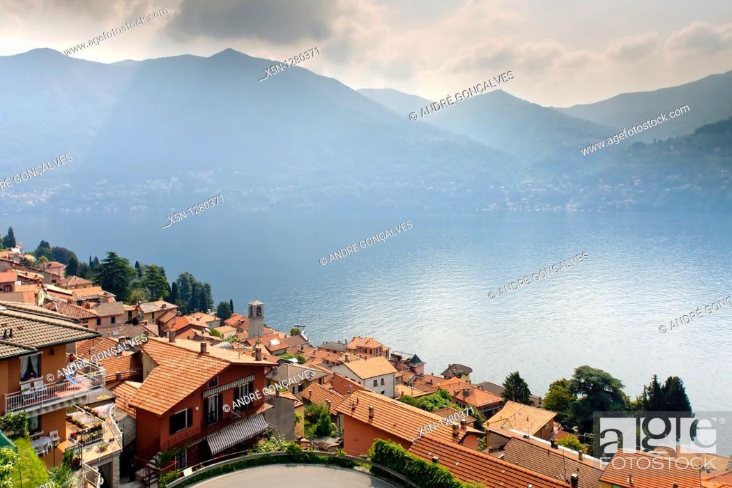 Stock Photo: Lago di Como, Italy.