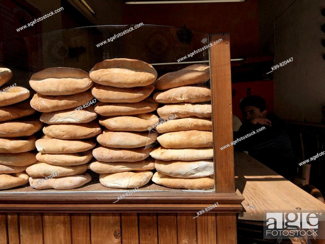 Stock Photo: Teleras. Puebla, México.
