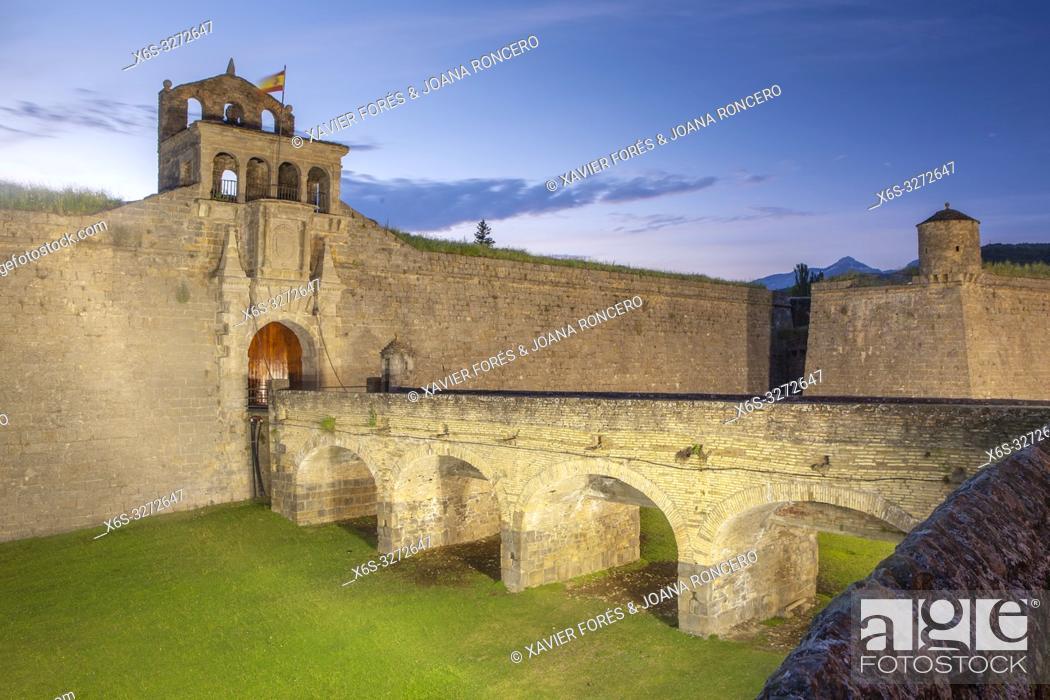 Imagen: Ciudadela de Jaca, Jaca, Huesca, Spain.