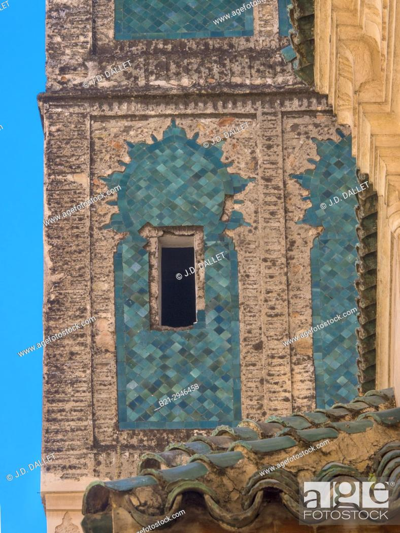 Stock Photo: Morocco, Fes, Zaouia Tijani at Fes.