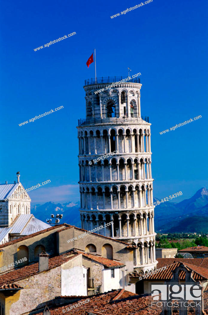 Stock Photo: Leaning Tower  Pisa Italy.