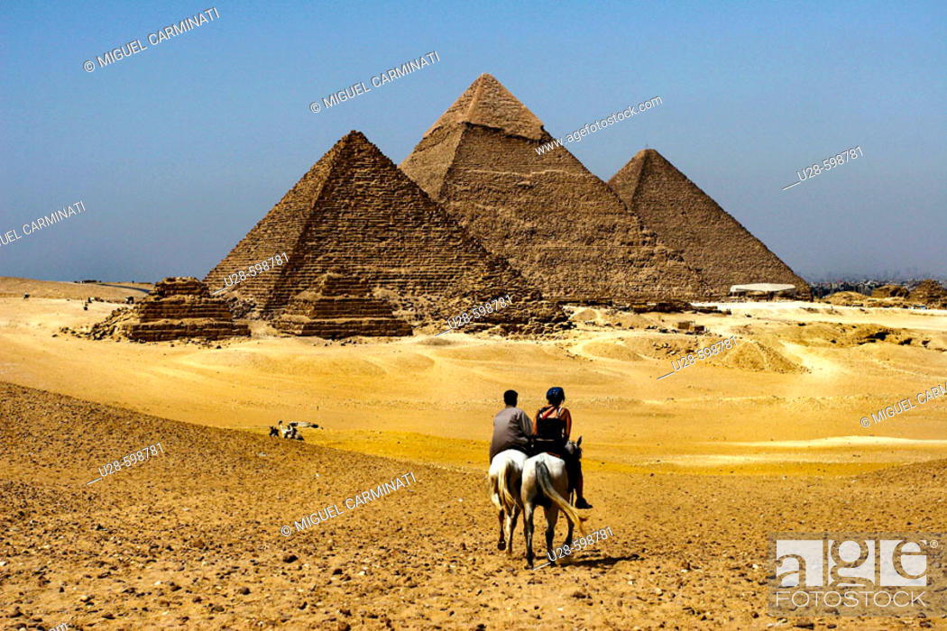 Stock Photo: Pyramids. Giza. Egypt.