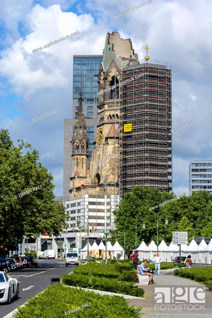 Kaiser Wilhelm Memorial Church Is One Of Berlins Most Famous