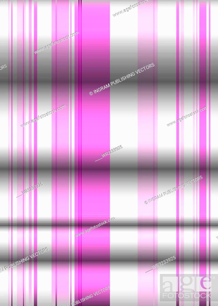Vector: Pink and white material background with folds in the material.