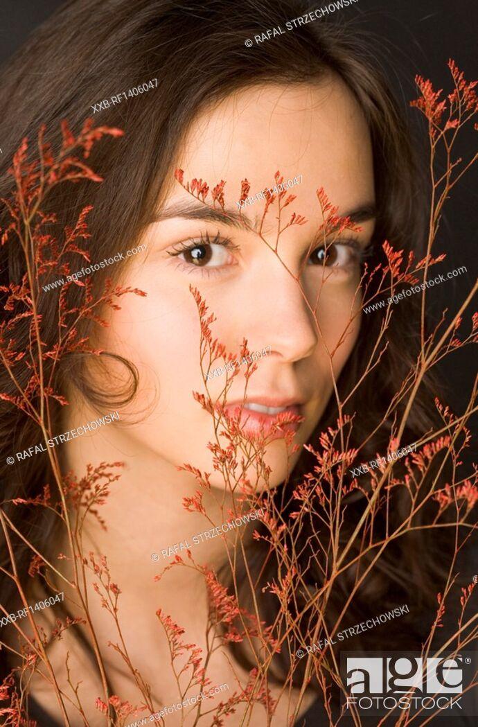Imagen: portrait of beautyful woman.