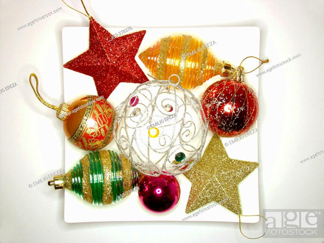 Imagen: Christmas ornaments.