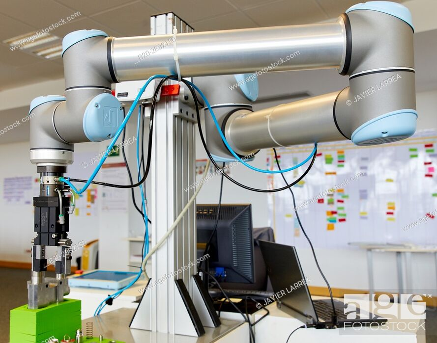 Stock Photo: Robot, Industry, Research and Technology Center, Tecnalia Research & Innovation, Donostia, Basque Country, Spain, Europe.