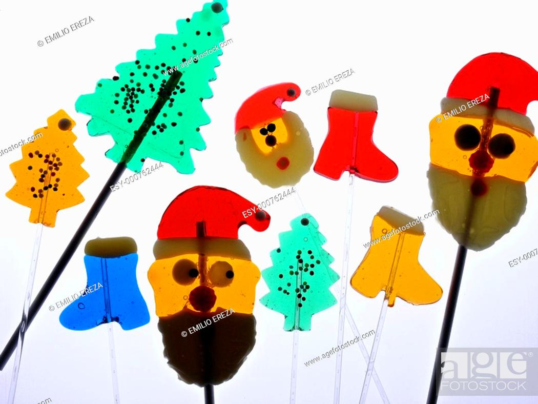 Stock Photo: Christmas candies.