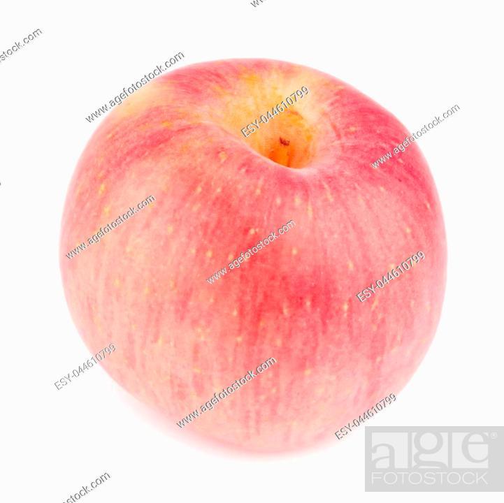 Stock Photo: apple isolated on white background.