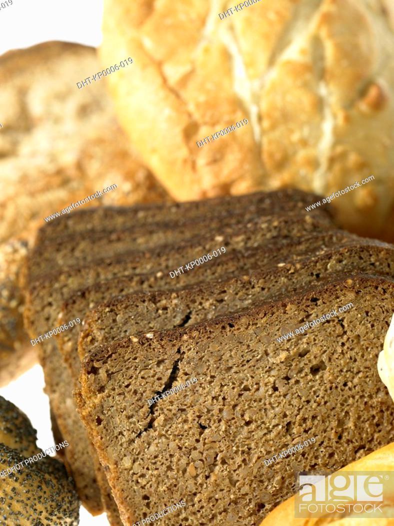Stock Photo: Food - Bread.