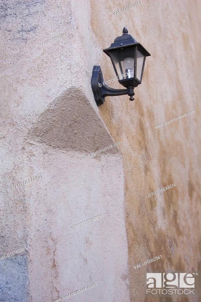 Stock Photo: Day, Decoration, Exterior, Lamp, Lantern.