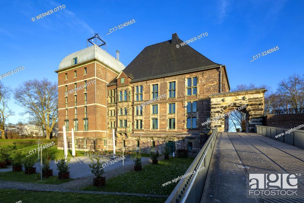 Stock Photo: Gelsenkirchen, Horst, D-Gelsenkirchen, D-Gelsenkirchen-Horst, Ruhr area, Westphalia, North Rhine-Westphalia, NRW, Castle Horst, Lippe Renaissance.