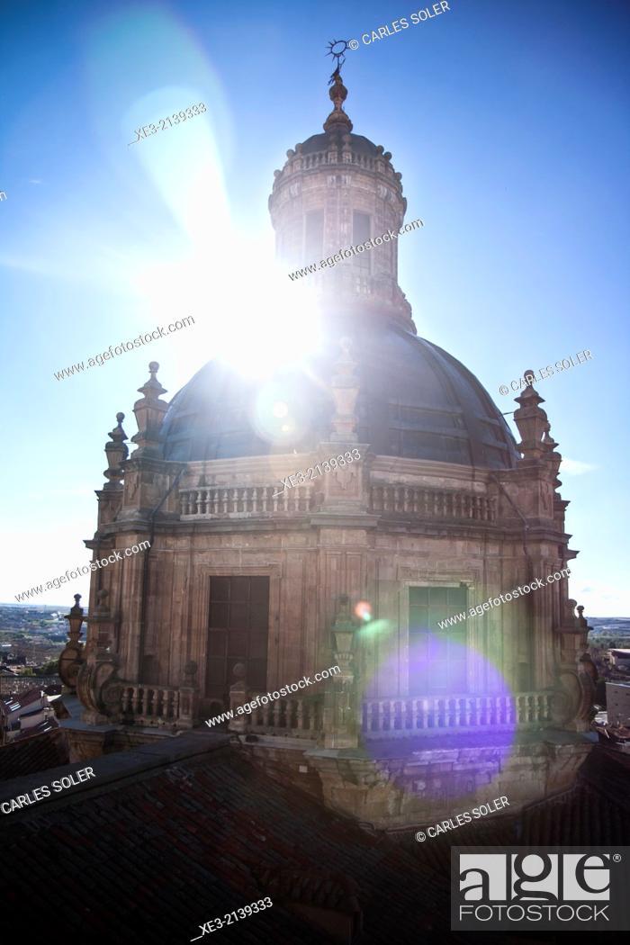 Stock Photo: Spain, Castilla y Leon, Salamanca, Iglesia de La Clerecia.