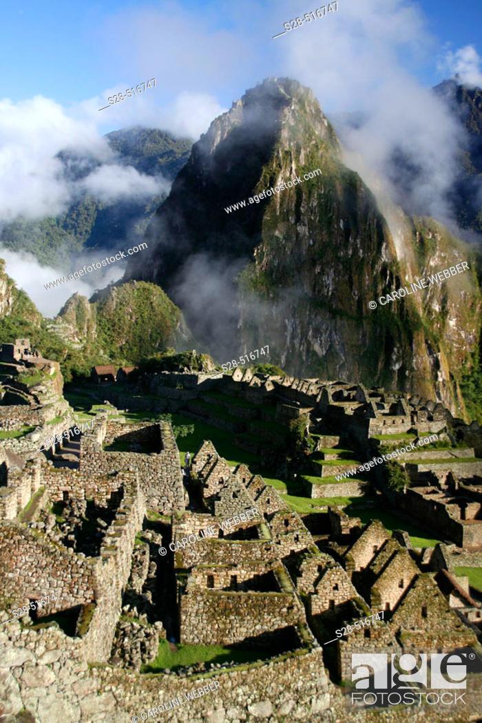Stock Photo: Machu Picchu, Peru.