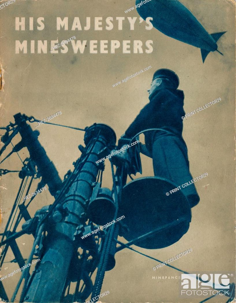 Stock Photo: The front page of His Majesty's Minesweepers, 1943. Artist: Unknown.