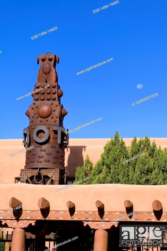 Stock Photo: USA, New Mexico, Santa Fe, Museum of Contemporary Native Arts.