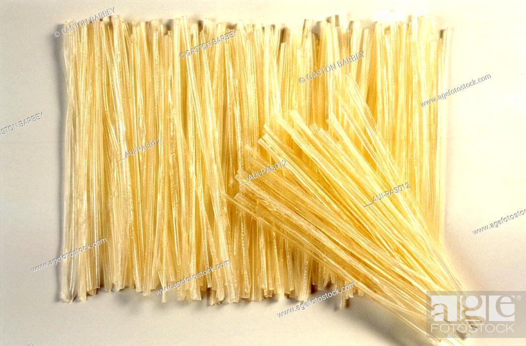 Stock Photo: Pasta - Banh Canh Kho.