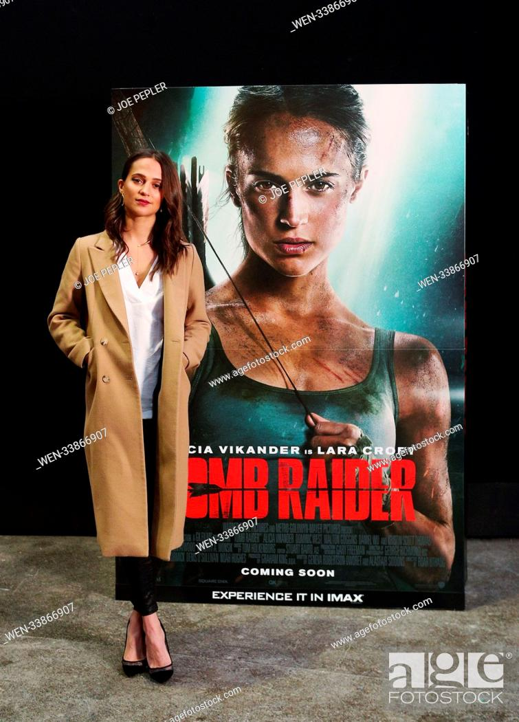 Alicia Vikander Oscar Winning Star Of The New Tomb Raider Movie
