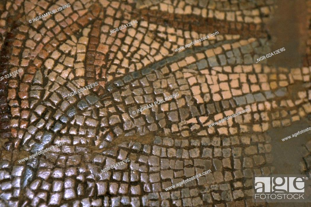 Stock Photo: Close-up of a mosaic pattern on a wall.