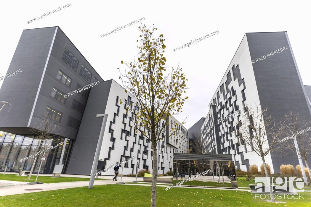 Stock Photo: University of Vienna, WU Wien: Wirtschaftsuniversität.