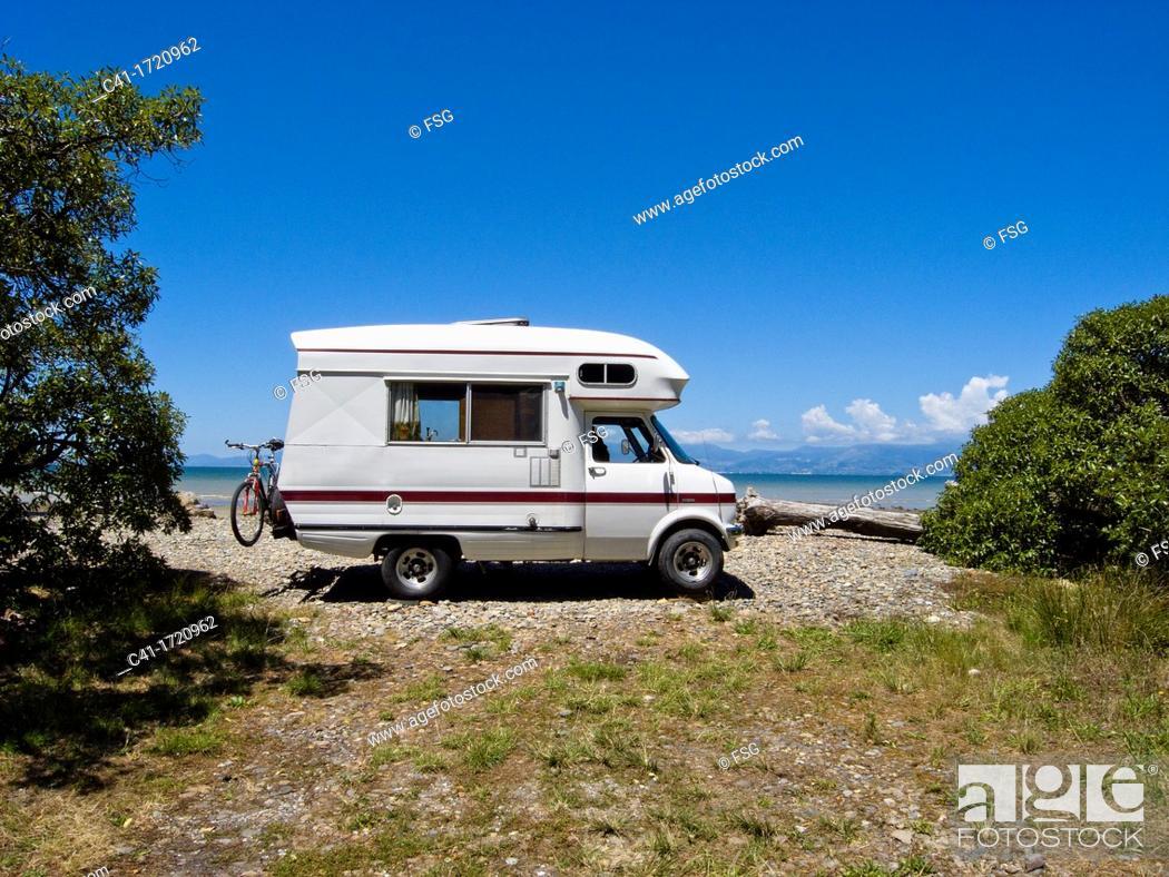 Stock Photo: Mapua  Ruby Bay, New Zealand.